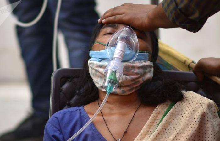 الهند تسجل عددا قياسيا جديدا من الإصابات بكورونا خلال 24 ساعة