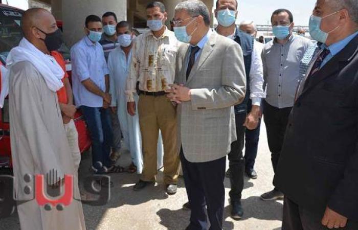 محافظ المنيا يكلف نائبه بمتابعة تطبيق الإجراءات الاحترازية لمواجهة كورونا