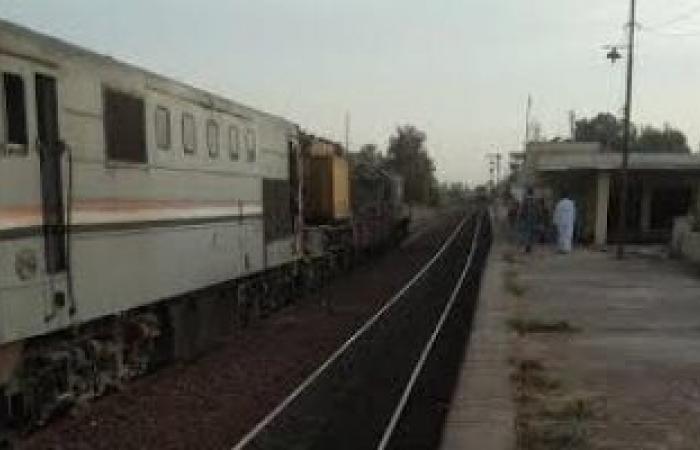 السكة الحديد تنتهي من رفع جرار واقعة قطار المنصورة / دمياط