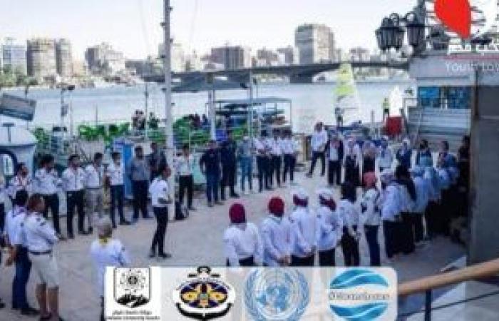 عودة حملة تنظيف الشواطئ بمشاركة 13 كلية من جامعة حلوان