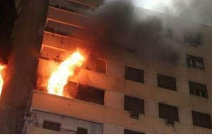 تعرضت لحالة اختناق.. مصرع مسنة في حريق شقة سكنية بالمعصرة
