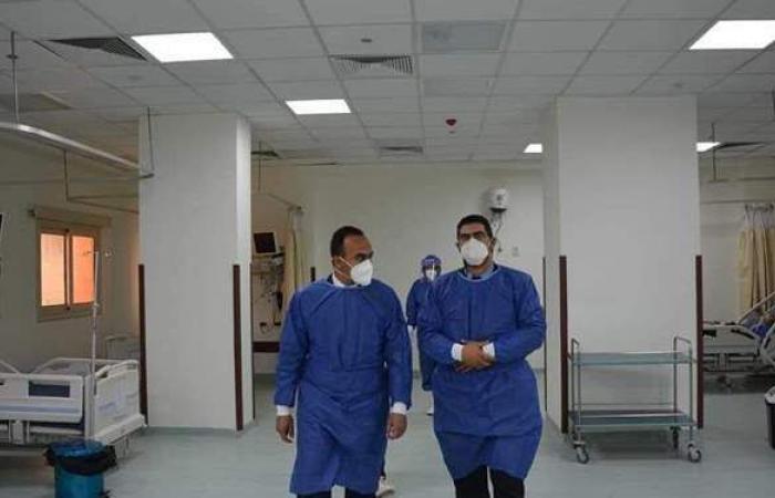 نائب محافظ المنيا ووكيل وزارة الصحة يتفقدان حميات ديرمواس