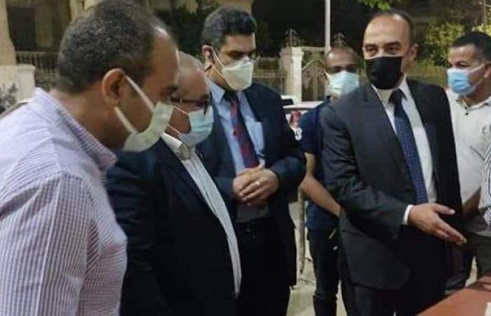 فيروس كورونا  تشميع محلين تجاريين وتحرير 50 مخالفة بالمنيا