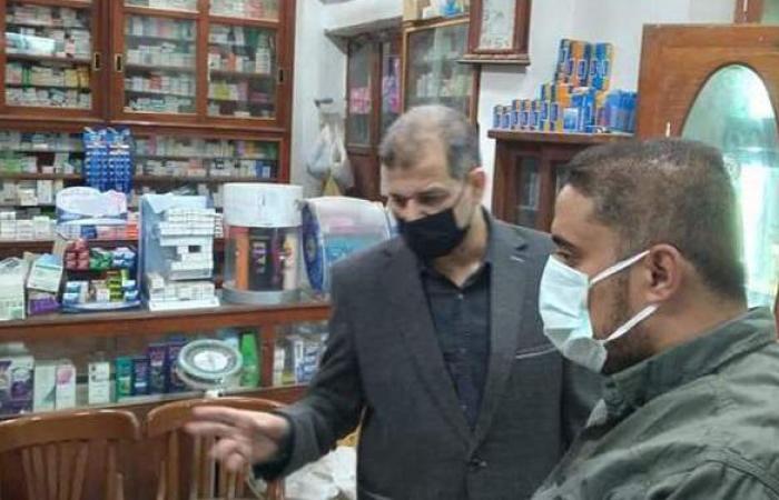 تحرير 25 مخالفة لعدم ارتداء الكمامات الواقية بالمنيا