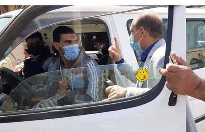 ٤٣٧ غرامة عدم الالتزام بالإجراءات الاحترازية في بورسعيد   صور