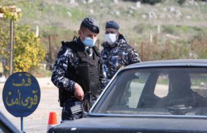 الشرطة اللبنانية تقيم حواجز للتأكد من تطبيق منع التجول خلال عيد الفصح
