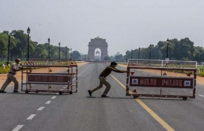 الهند تمدد الإغلاق في نيودلهي لمواجهة تفشى كورونا