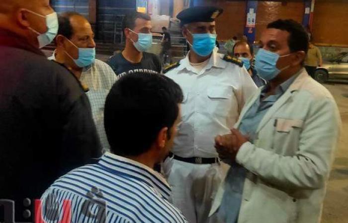 حملات مكبرة لفض تجمعات المواطنين بالتل الكبير في الإسماعيلية   صور