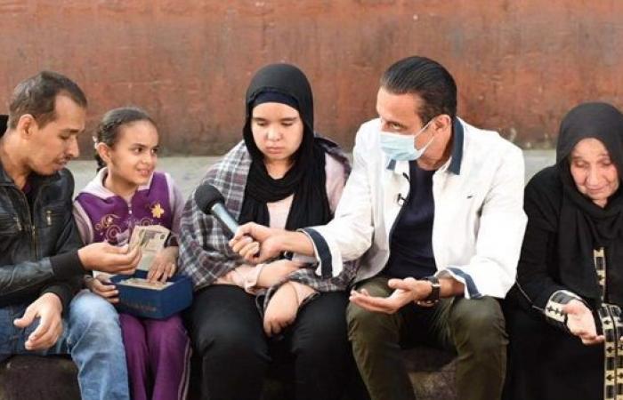 كلام من دهب : ١٠٠ ألف جنيه هدية السماء للحاجة زينب بعد تحملها مرض نجلها وزوجته