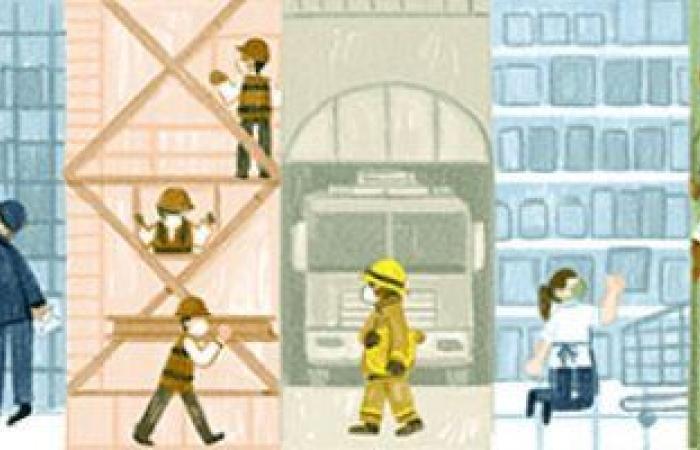 عيد العمال 2021.. جوجل يحتفل بهذا اليوم بصور مهن مختلفة على صفحته الرئيسية