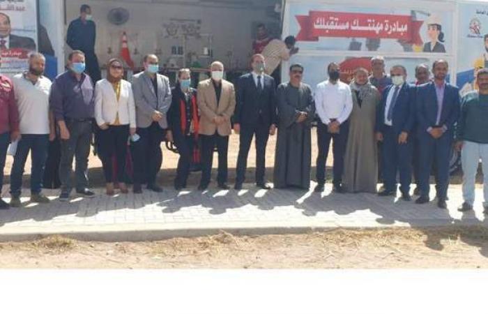 احتفالا بعيد العمال.. وصول أول وحدة تدريب متنقلة إلى الإسكندرية