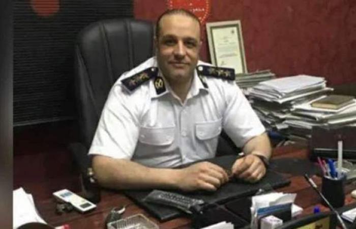وفاة معاون الضبط بقسم شرطة المطرية