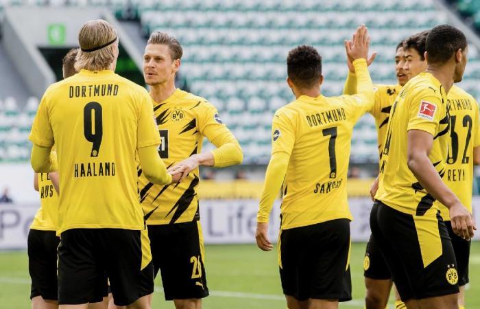 دورتموند يواجه قاهر بايرن ميونخ في نصف نهائي كأس ألمانيا