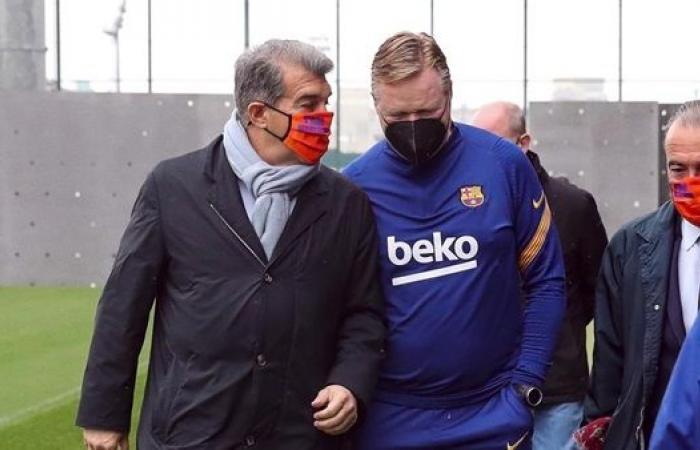 لابورتا يختار مدرب برشلونة الجديد