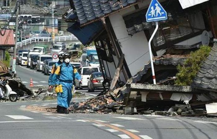 زلزال بقوة 6.8 درجة يضرب شمال شرق اليابان