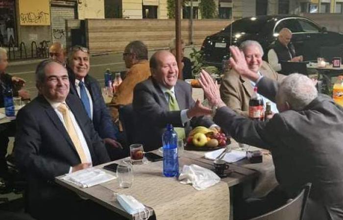 حفل إفطار للجالية المصرية بروما