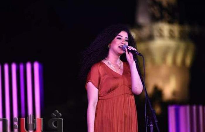 نوران أبو طالب تشعل حفل الأوبرا على مسرح النافورة   صور