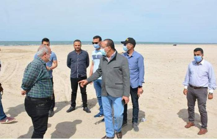 طوارئ بالدقهلية لغلق شواطئ جمصة والحدائق في شم النسيم | صور