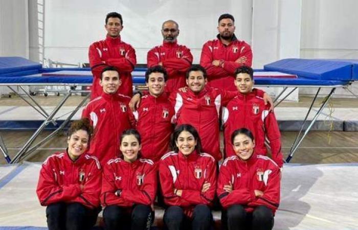 منتخب الجمباز يدخل معسكرا مغلقا بالقاهرة استعدادا للتصفيات الأولمبية