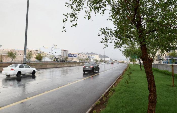 «تنبيهات الأرصاد»: أمطار من متوسطة إلى غزيرة على مكة وعسير