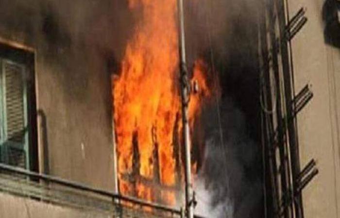 ماس كهربائي وراء حريق شقة في حدائق حلوان