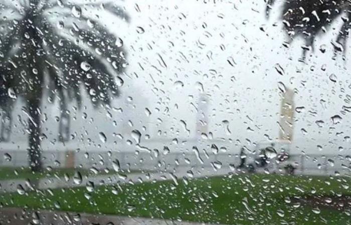 «الأرصاد» عن طقس الإثنين: أمطار غزيرة وزخات برد على بعض مناطق المملكة