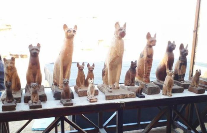 """متحف تركي يكشف لأول مرة عن كنز مصري عمره 2700 عام يسمى """"بركة النيل"""" .. صور"""