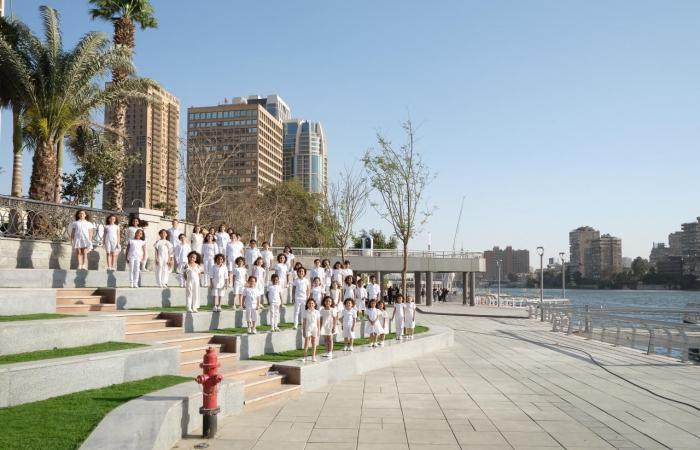 سيتي إيدج ترسم لوحة فنية في حملتها الاعلانية تجمع بين مشروعاتها وروعة معالم مصر