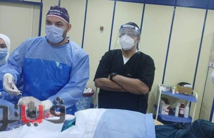 إجراء ٣ عمليات قسطرة قلبية بمستشفي الزقازيق العام