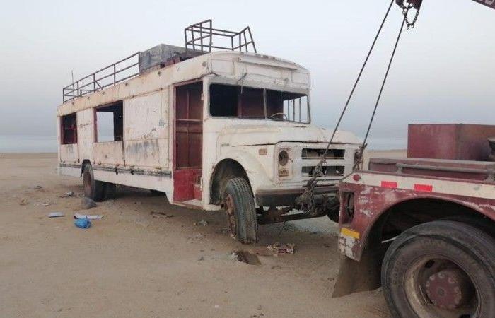 «أمانة» جدة ترفع 859 سيارة مهملة وتالفة خلال شهر أبريل