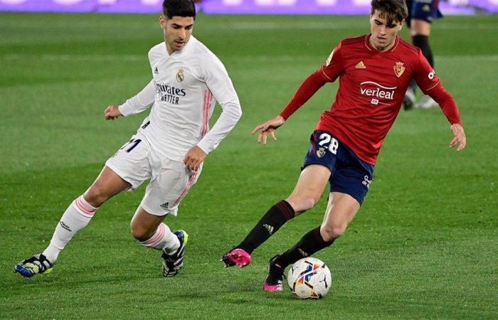 """ريال مدريد يهزم أوساسونا ويواصل مطاردة أتلتيكو على صدارة """"الليجا"""""""