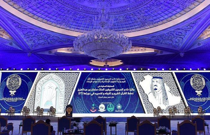 وزير الشؤون الإسلامية يرعى حفل تكريم الفائزات بجائزة الملك سلمان لحفظ القرآن