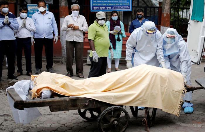 الهند تسجل نسبة وفيات قياسية بكورونا خلال 24 ساعة