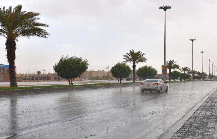 من الاثنين للجمعة.. استمرار فرص هطول أمطار ربيعية على عدد من المناطق