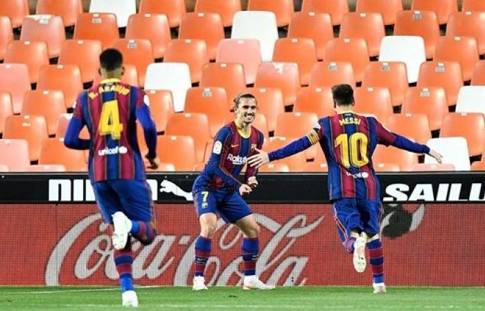 شاهد أهداف مباراة برشلونة وفالنسيا في الدوري الإسباني.. ميسي ينفجر