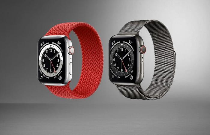 ابل تقدم ترقية كبيرة في ساعة Apple Watch 8 الذكية القادمة
