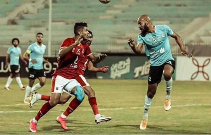 الشناوي يستقبل الهدف الـ 12 في شباك الأهلي هذا الموسم أمام المحلة