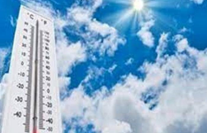الأرصاد تعلن تفاصيل طقس الأيام القادمة.. موجة حارة يعقبها انخفاض الحرارة