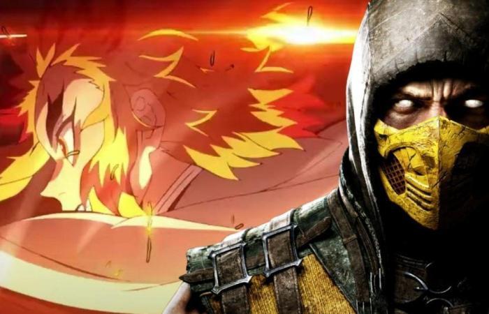 فيلم الأنمي Demon Slayer the Movie: Mugen Train يَعود ليتغلب على Mortal Kombat في مُنافستهم الشرسة على شباك التذاكر