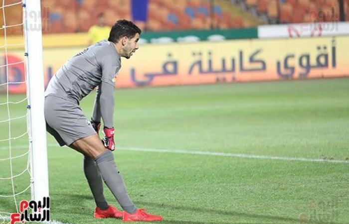 إصابة محمد عواد في الدقيقة 7 من مباراة بيراميدز.. صثور