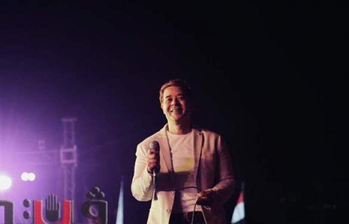 مدحت صالح يشعل حفلات الأوبرا الرمضانية بأشهر أغانيه | صور