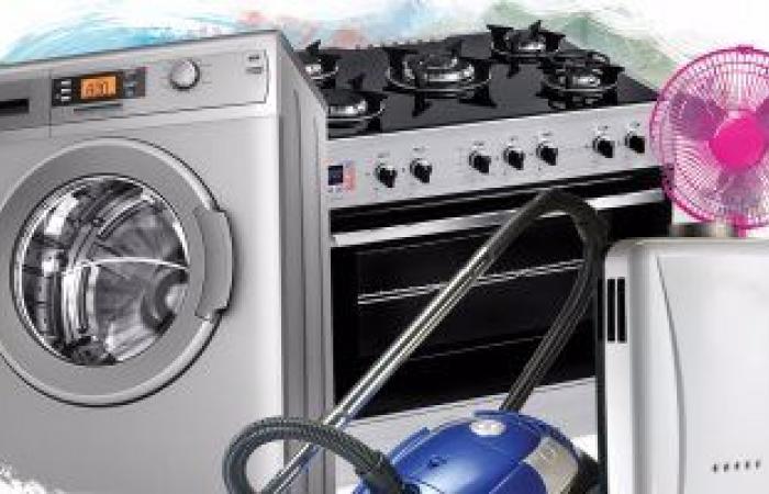 شعبة الأجهزة الكهربائية بالجيزة تتوقع زيادة المبيعات بنسبة 20%