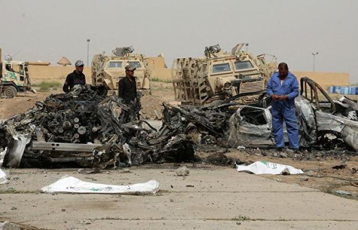 4 صواريخ تستهدف قاعدة بلد الجوية في العراق