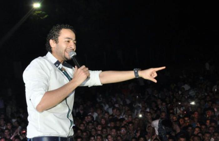 حمادة هلال يصاب بطلقة في وجهه..ورامز جلال: والله ما أنا.. فيديو