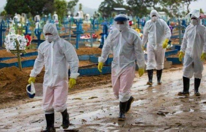 البرازيل تسجل 1200 وفاة جديدة بكورونا خلال 24 ساعة