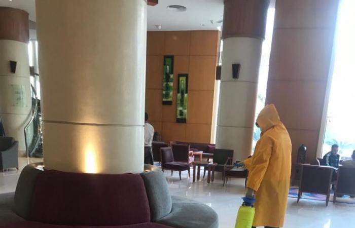 لجان سرية لمراقبة تطبيق الفنادق والمطاعم السياحية إجراءات الوقاية من كورونا.. صور