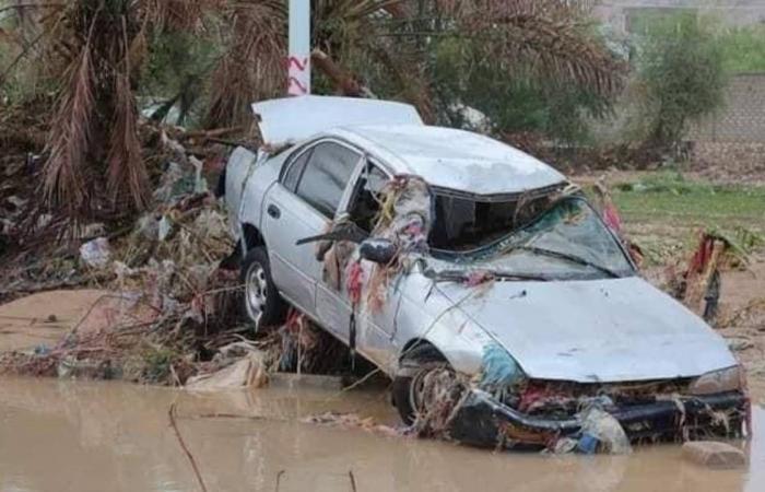 مصرع 4 أشخاص وفقدان آخرين في سيول حضرموت