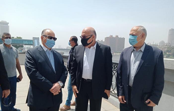 محافظ القاهرة يوجه بتكثيف الحملات للتأكد من غلق الحدائق.. صور