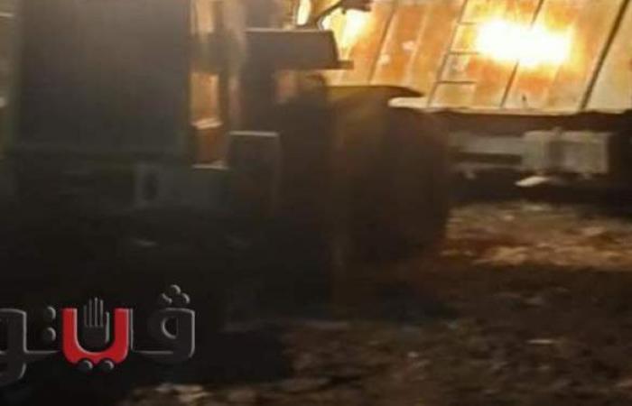 نقل 150 طن قمامة من فاقوس لمقلب الظهيرالصحراري بأبوشلبي بالشرقية