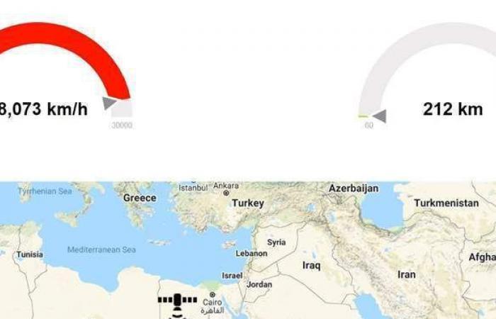 """أستاذ هندسة فضاء عن صاروخ الصين الخارج عن السيطرة: """"يعبر مصر الآن"""""""